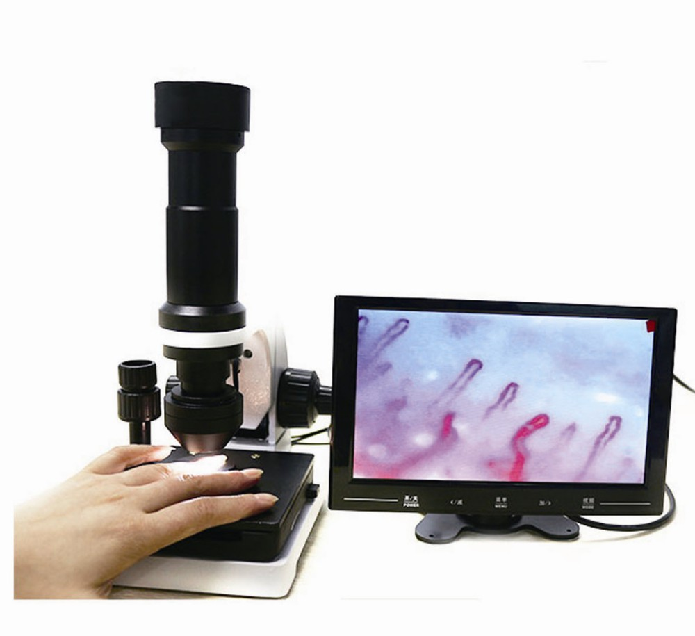 9 inch screen Color Microcirculation Microscope xw880