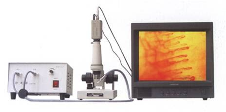 What is capillary microscope?